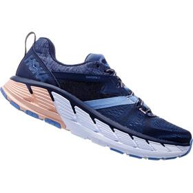 Hoka One One Gaviota 2 Running Shoes Women Mood Indigo/Dusty Pink